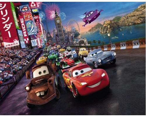 Фотообои Komar Disney Cars Race