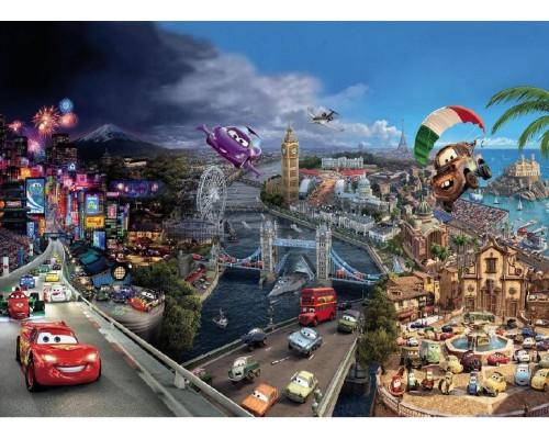 Фотообои Komar Disney Cars World 8-400